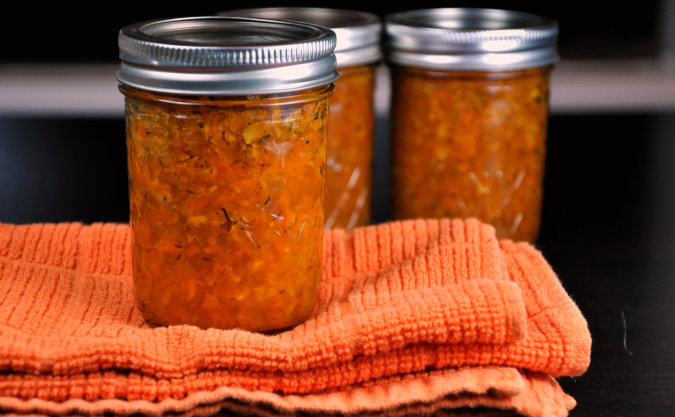 Spicy Carrot Ginger Chutney