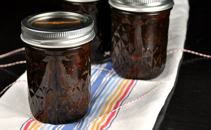 Strawberry Dried Fig Chutney