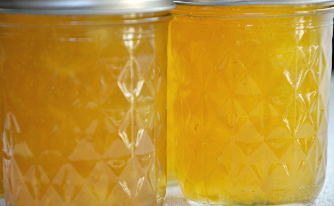 Pineapple Rum Jam with Lime